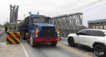 Áncash: Reabren tránsito en el puente Coishco para facilitar intercambio comercial con el norte del país - Diario Perú21
