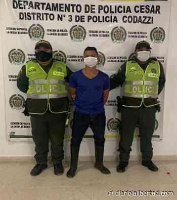En La Jagua de Ibirico cayó hombre buscado en Valledupar - Diario La Libertad