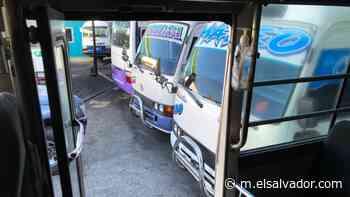 Ruta 100-A que recorre entre Ciudad Arce y San Salvador está en paro tras amenazas a conductores - elsalvador.com