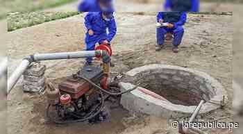 La Libertad: darán mantenimiento a 100 pozos artesanales del valle de Chicama LRND - LaRepública.pe