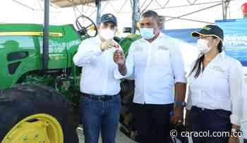 Maquinarias e insumos para campesinos en Barranco de Loba, Bolívar - Caracol Radio
