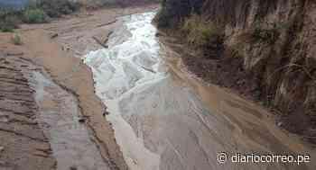 Huaico deja sin acceso varios anexos en distrito Pampamarca de La Unión, en Arequipa - Diario Correo