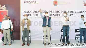 Inaugura pavimentación del bulevar Suchiapa-Pacú - Cuarto Poder