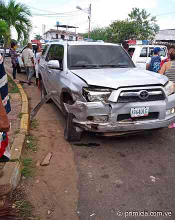 A tribunales conductor que chocó con otros dos vehículos en El Caimito - primicia.com.ve