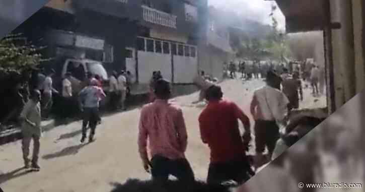 Reportan fuertes enfrentamientos entre Esmad y guaqueros en Muzo, Boyacá - Blu Radio