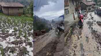Áncash: granizadas y lluvias afectan viviendas, cultivos y vías de Pomabamba LRND - LaRepública.pe