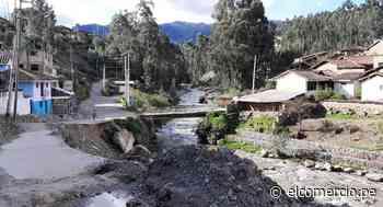 Áncash: inician descolmatación y encauzamiento en río Pomabamba por temporada de lluvias - El Comercio - Perú