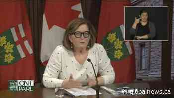 Coronavirus: Ontario health official addresses change on policy over Pfizer vaccine doses