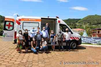 Notícias | Notícias: cacique-doble-recebe-ambulancia-equipada-com-uti-movel - Jornal Bom Dia