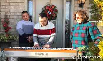 Coronavirus: Music, community service help Mississauga man with autism cope during pandemic