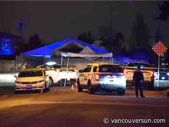 Homicide investigators probe shooting death of 14-year-old in Surrey