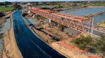 Lambayeque: cierran tránsito vehicular por el Puente Reque por trabajos de reforzamiento   LRND - LaRepública.pe