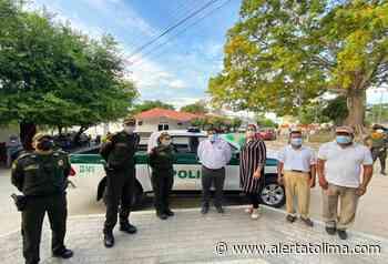 Policía recibió nuevo parque automotor en el municipio de Coyaima - Alerta Tolima
