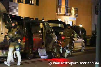 SEK Einsatz: Ex-Soldat hält Polizei in Atem bei Dillingen - Blaulichtreport-Saarland