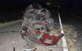 Choque dejó un muerto y dos heridas en la Irapuato-Cueramaro - La Prensa