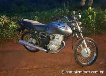 Polícia Militar realiza perseguição e recupera motocicleta furtada em Iturama - Pontal Emfoco