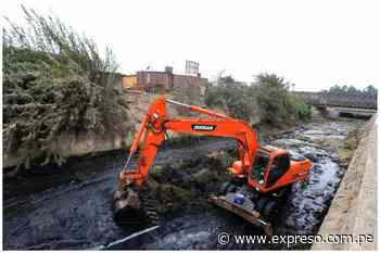 San Juan de Lurigancho: ejecutan trabajos de descolmatación y limpieza del rio Huaycoloro - Expreso (Perú)