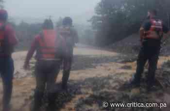 Evacúan familias en Cerro Punta y Volcán, deslizamientos en Gualaca - Crítica
