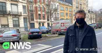 Verkeersdrempels Koekelberg zorgen voor trillend servies en scheurtjes in de huizen - VRT NWS