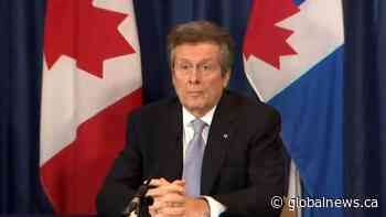 Coronavirus: Toronto officials comment on Finance Minister Rod Phillips' out-of-country trip