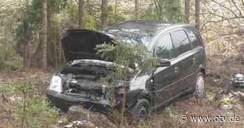 Parkstein: Verkehrsunfall mit einem Leichtverletzten - Oberpfalz TV
