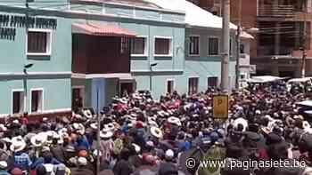 Otra vez, la violencia se desata en Betanzos en elección de candidatos del MAS - Diario Pagina Siete