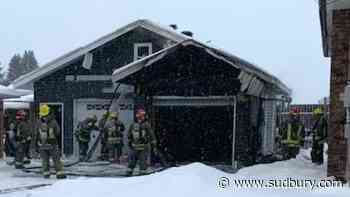 Early morning fire in Hanmer contained to garage - Sudbury.com
