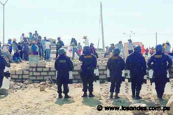 Desalojarán a 1500 invasores en Yura - Los Andes Perú