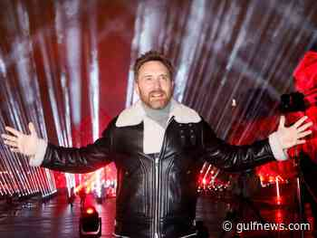 Photos: DJ David Guetta records hour-long NYE show in front of Louvre Museum - Gulf News