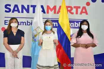 Merecido reconocimiento: Virna Johnson recibe la medalla 'Policarpa Salavarrieta' por su liderazgo en la erradicación de la violencia contra la mujer - Diario La Libertad