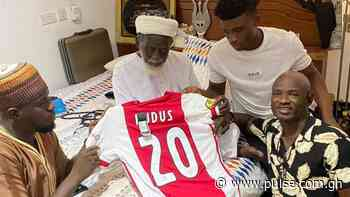 Ajax star Kudus Mohammed calls on Chief Imam to seek his blessings - Pulse Ghana