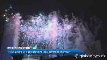 New Year's Eve celebrations look different as 2020 comes to an end