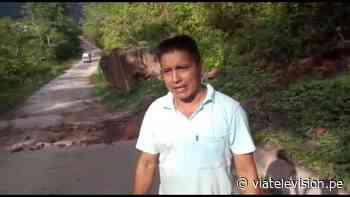 Diversos tramos de la carretera a Chazuta en pésimo estado - VIA Televisión