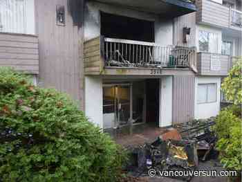 Five injured in early-morning fire in Burnaby