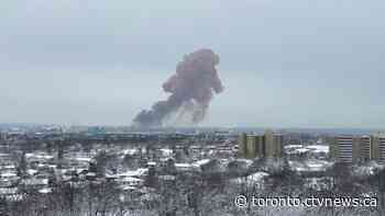 Large explosion occurs at steel plant in Hamilton, Ont. - CTV Toronto