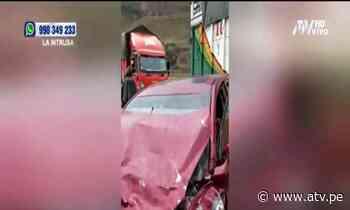 Tragedia en La Oroya: Brutal choque en la Carretera Central deja siete muertos - ATV.pe
