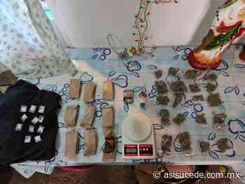 Fiscalía estatal desmantela punto de venta de droga en Tenancingo - Noticiario Así Sucede