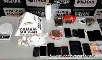 Polícia Militar apreende drogas e prende dois em Manhumirim - Portal Caparaó