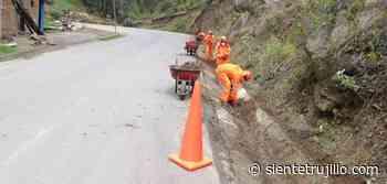 Inician mantenimiento de 122 kms de carretera Santiago de Chuco-Shorey - Siente Trujillo