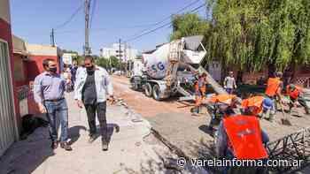 Anuncian reconstrucción de pavimentos en General San Martin y 9 de Julio - varelainforma.com.ar