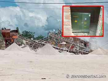 Trituradora de piedra en Luruaco manipulaba medidor de energía - Diario La Libertad
