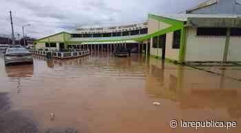 Puno: terminal de buses en Ayaviri se inundó por intensa lluvia y granizada - LaRepública.pe