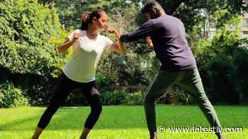 Bollywood News | ⚡Dia Mirza Is Learning the Indian Martial Arts Form Kalaripayattu (View Post) - LatestLY