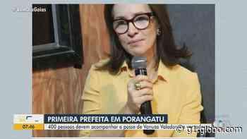 Prefeita e vereadores de Porangatu tomam posse; veja lista de eleitos - G1