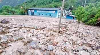 Huaico sepulta casa de máquinas de hidroeléctrica La Atuyunga en Celendín LRDN - LaRepública.pe