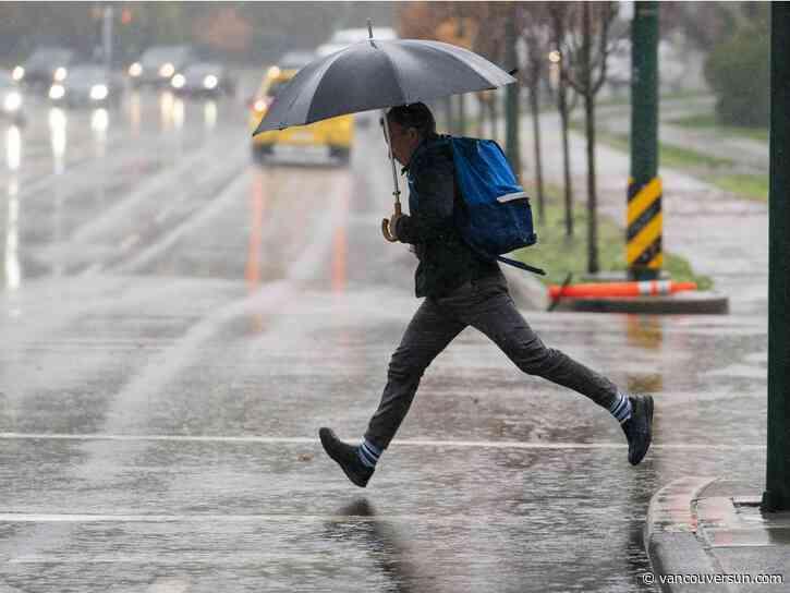 Vancouver Weather: Rain, rinse, repeat