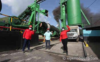 Inauguran planta de asfaltado Comando II en San Casimiro - El Periodiquito