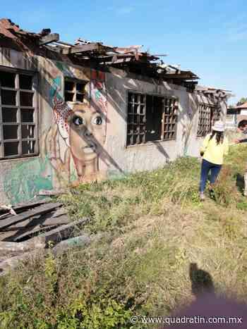 Autoridades y jóvenes van por rescate de murales en El Bejuco en LC - Quadratín - Quadratín Michoacán