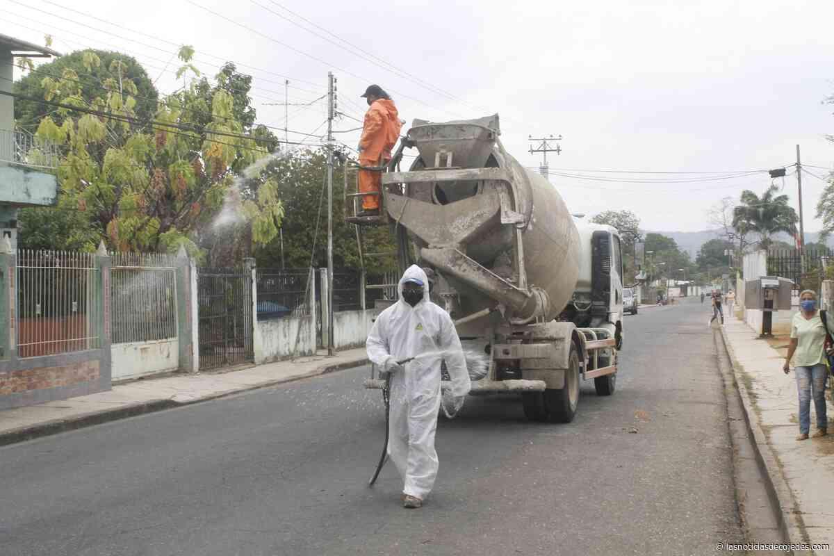185 comunidades de Tinaquillo atendidas con planes de limpieza, desinfección y ornato - Las Noticias de Cojedes