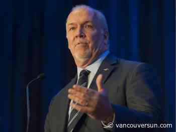 John Horgan says B.C. will focus on pandemic economic recovery, health reform in 2021